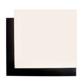 Broan 42-in Bisque/Black Backsplash Plate