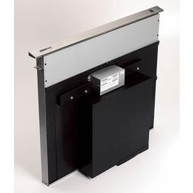 broan 36in downdraft range hood stainless steel