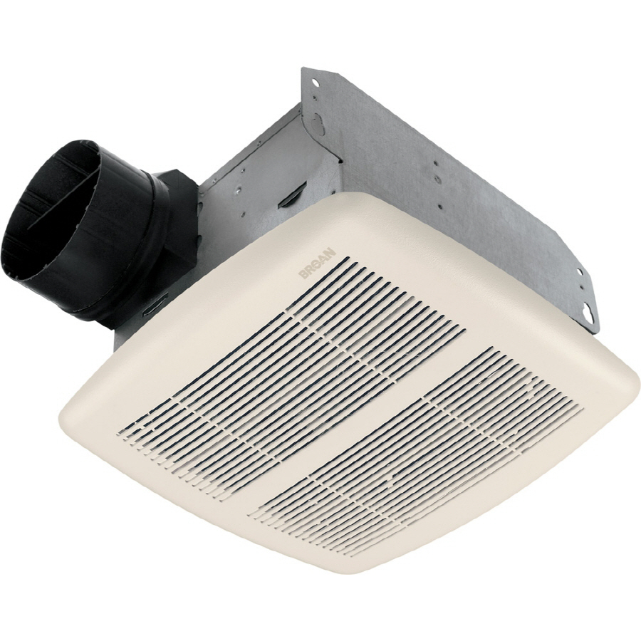 Shop Broan 2 5 Sone 80 CFM White Bathroom Fan At