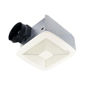 Broan 0.8-Sone 80-CFM White Bathroom Fan Gu24 ENERGY STAR