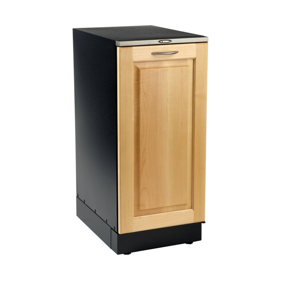 Shop broan wood trim undercounter trash compactor Garbage compactor