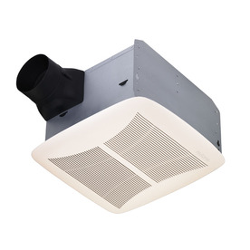 Broan 1.5-Sone 90-CFM White Polymeric Bathroom Fan ENERGY STAR
