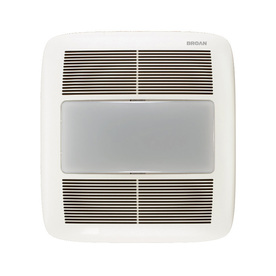 Broan 1.5-Sones 140 CFM White Bathroom Fan Room and Night Light ENERGY STAR