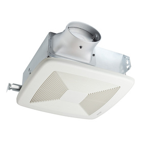 Broan 1.1-Sone 80 CFM White Bathroom Fan ENERGY STAR