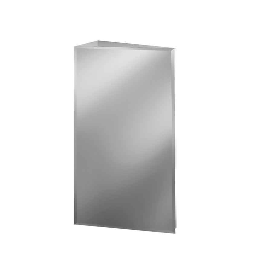 Shop Broan Corner 16 In X 36 In Frameless Metal Surface