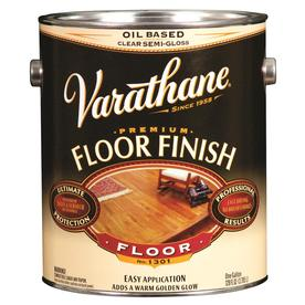 Varathane Clear Semi-Gloss Oil-Based Interior Paint (Actual Net Contents: 128 Fluid Oz.)