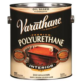 Varathane Alkyd Clear Satin Oil-Based Interior Paint (Actual Net Contents: 128-fl oz)