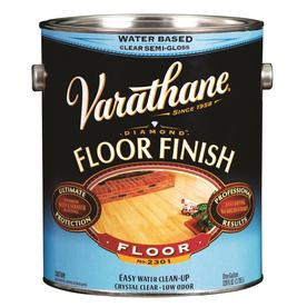 Varathane Floor Finish Satin Water-Based 128-fl oz Polyurethane