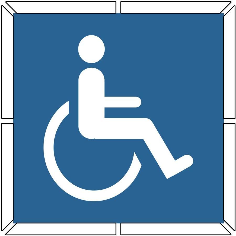 Enlarged image for Handicap template