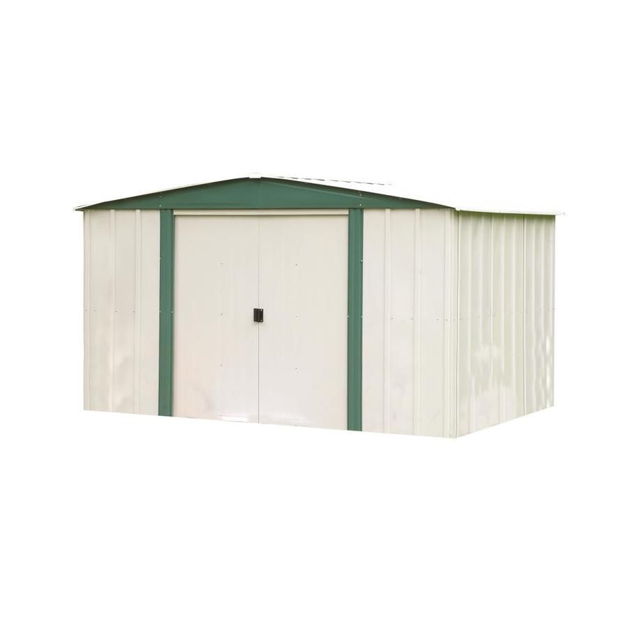 Shop Arrow Galvanized Steel Storage Shed (Common: 10-ft x 8-ft