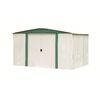Arrow 8-ft x 6-ft Galvanized Steel Storage Shed (Actuals 8.31-ft x 5.94-ft)