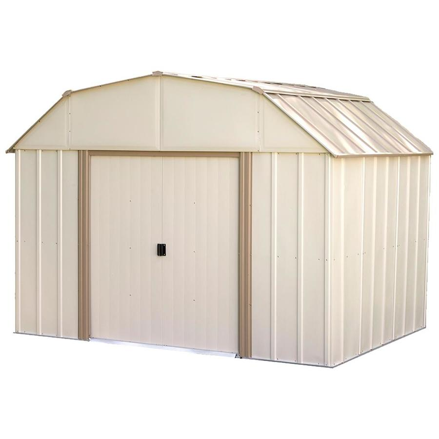 New - Arrow Galvanized Steel Storage Shed | woodworking classes
