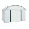 Arrow 10-ft x 8-ft Galvanized Steel Storage Shed (Actuals 10.27-ft x 7.94-ft)