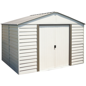arrow milford storage shed from lowes sheds structures outdoor