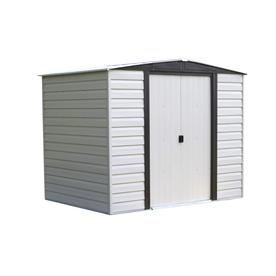 8 x 6 vinyl storage shed