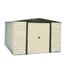 Arrow 10-ft x 6-ft Vinyl-Coated Steel Storage Shed (Actuals 10.27-ft x 5.94-ft)