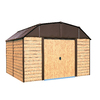 Arrow Galvanized Steel Storage Shed (Common: 10-ft x 9-ft; Interior Dimensions: 9.85-ft x 8.52-ft)