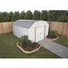 Arrow Galvanized Steel Storage Shed (Common: 10-ft x 14-ft; Interior Dimensions: 9.85-ft x 13.13-ft)