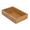 Lipper International 9-in x 6-in Bamboo Multi-Use Insert Drawer Organizer