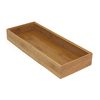 Lipper International 15-in x 6-in Bamboo Multi-Use Insert Drawer Organizer
