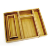 Lipper International 12-in x 15-in Bamboo Multi-Use Insert Drawer Organizer