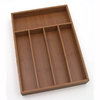 Style Selections 14-in x 10-1/4-in Bamboo Multi-Use Insert Drawer Organizer