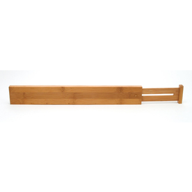 Style Selections 22-1/4-in x 5/8-in Bamboo Multi-Use Insert Drawer Organizer