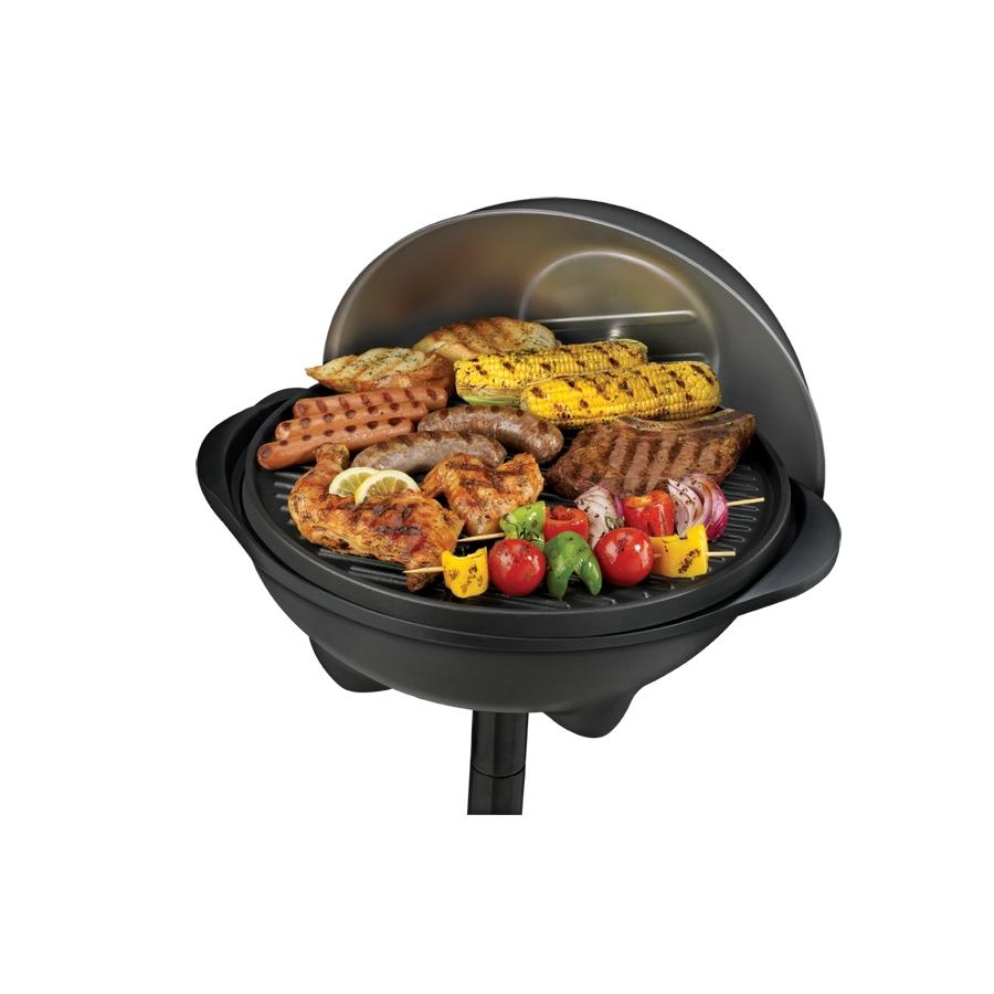 Lowe S Electric Grills Outdoor ~ Shop george foreman indoor outdoor watt electric