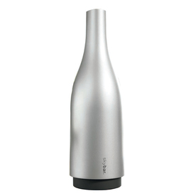 skybar Brushed Stainless Steel Insulated Wine or Champagne Cover