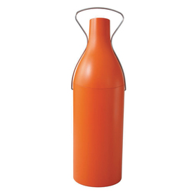 skybar Insulated Wine or Champagne Carrier in Orange with Gift Box