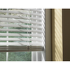 Custom Size Now by Levolor 46-in W x 64-in L White Faux Wood 2-in Slat Room Darkening Plantation Blinds