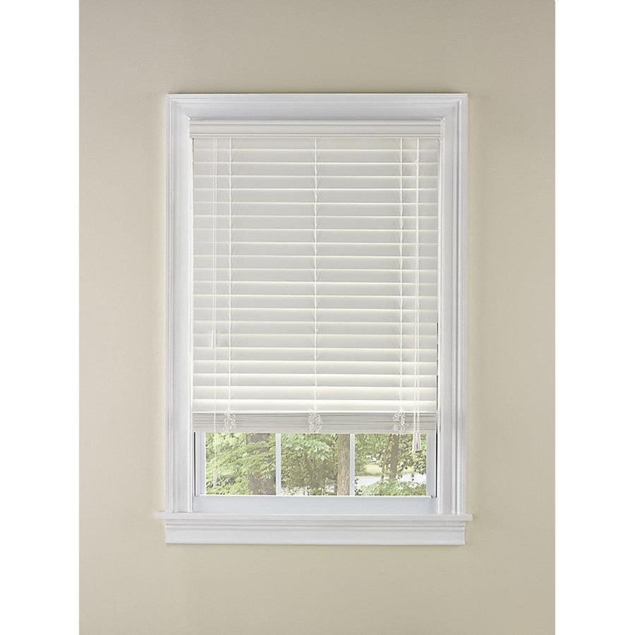 Shop custom size now by levolor 2 in white faux wood room for 2 way window blinds