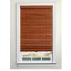 Custom Size Now by Levolor 2-in Wood Room Darkening Plantation Blinds