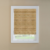 Custom Size Now by Levolor Natural Bamboo Light Filtering Woven Wood Natural Roman Shade (Common 36-in; Actual: 35.5-in x 72-in)