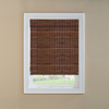 Custom Size Now by Levolor 24-in W x 60-in L Cinnamon Bamboo Light Filtering Natural Roman Shade