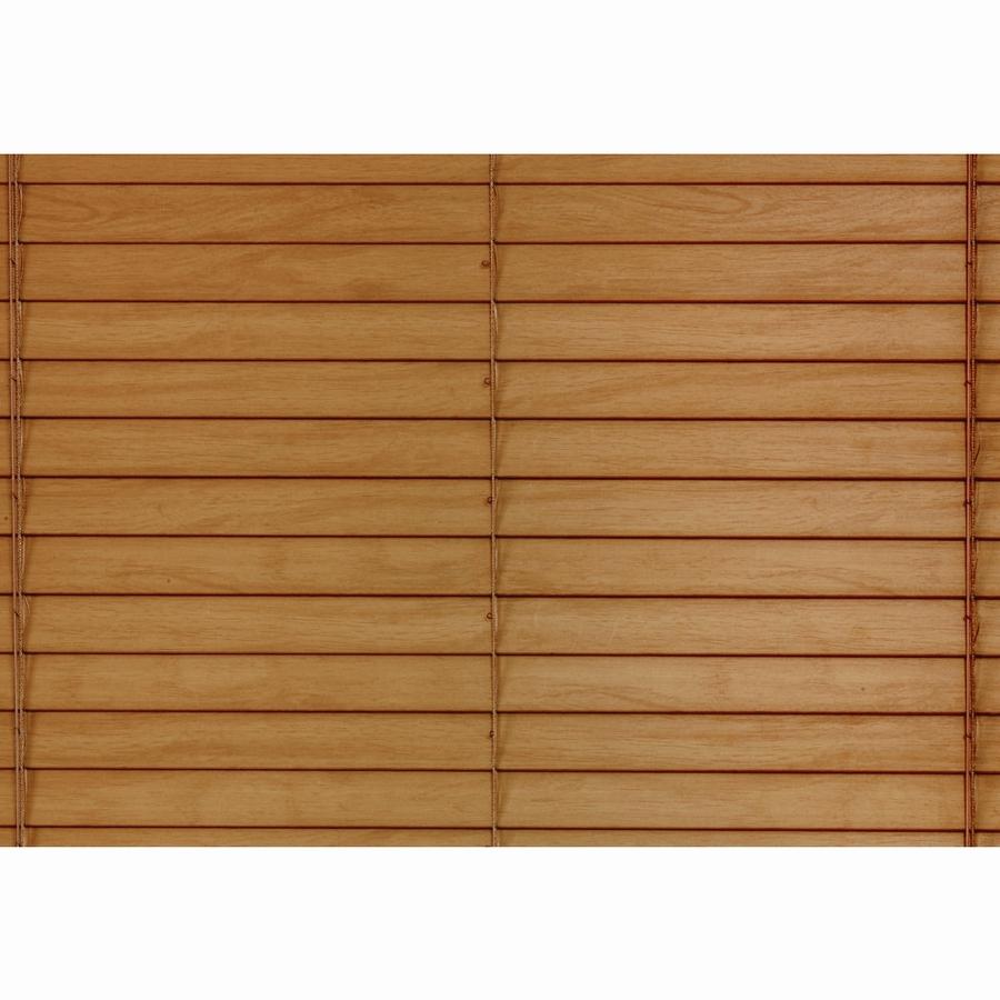 Shop Custom Size Now By Levolor Honey Pine Faux Wood 1 5