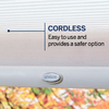 Custom Size Now by Levolor Sand Room Darkening Cordless Polyester Cellular Shade (Common 60-in; Actual: 59.5-in x 72-in)