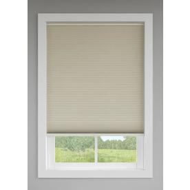 Custom Size Now by Levolor 60-in W x 72-in L Sand Room Darkening Cellular Shade