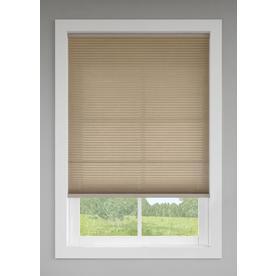 Shop Custom Size Now By Levolor 36 In W X 72 In L Toffee Light Filtering Cordless Polyester