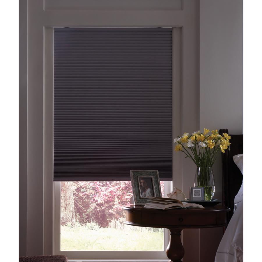 Shop levolor 72 in l dove room darkening cordless Room darkening blinds