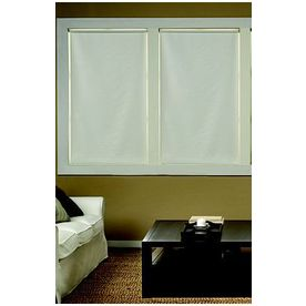 Custom Size Now by Levolor 55-in W x 78-in L Cream Blackout Roller Shade