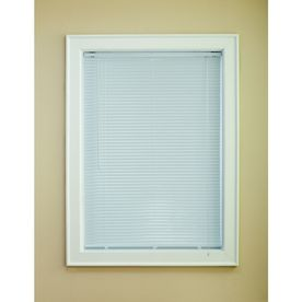 "Custom Size Now by Levolor 72""W x 64""L White Aluminum 1"" Slat Mini-Blind"