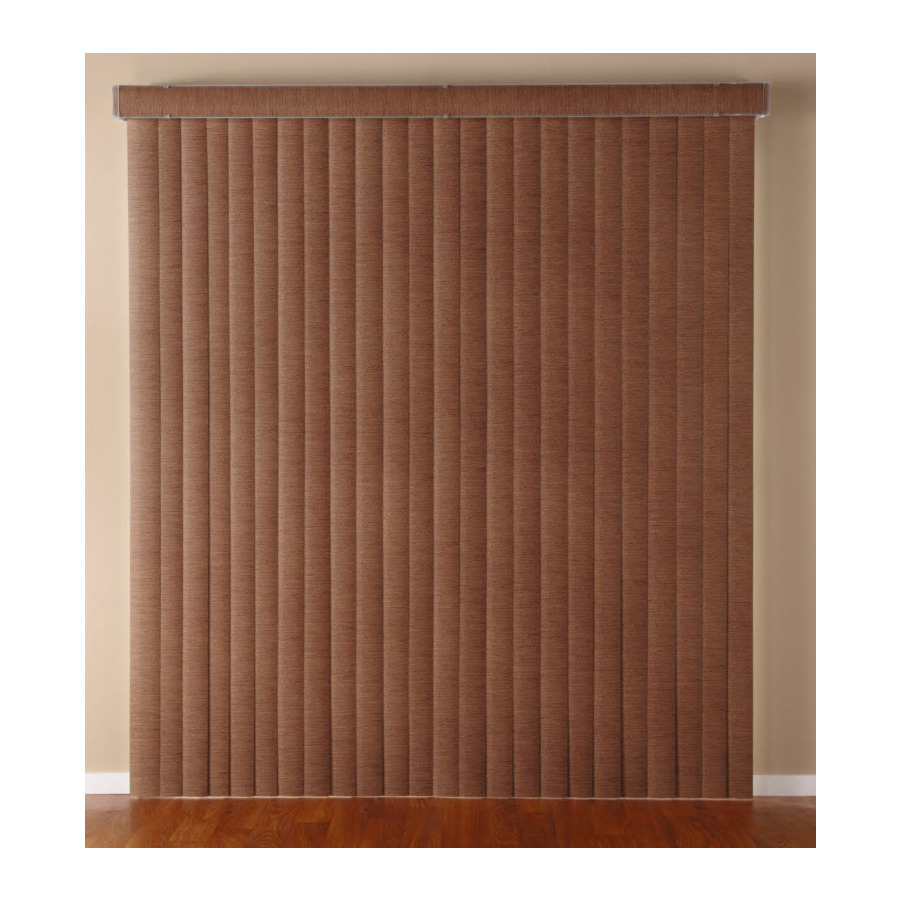 shop custom size now by levolor cinnamon vinyl 3 5 in slat