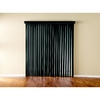 Custom Size Now by Levolor 3-1/2-in W x 84-in L Carbon Vinyl 3-1/2-in Slat Room Darkening Vertical Blinds