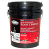 BLACK JACK 4.75-Gallon Waterproof Cement Roof Sealant