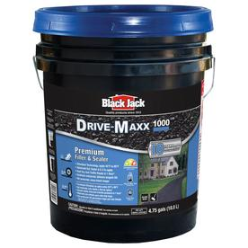 BLACK JACK 4.75-Gallon Blacktop Driveway Filler and Sealer