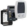 Cadet Compak Bath 1,000-Watt 120/240-Volt Heater Fan Heater (10-in L x 12.625-in H Grille)
