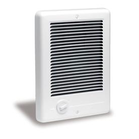 Cadet Com-Pak Plus fan-forced in-wall electric heater with built-in thermostat