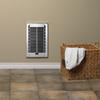 Cadet RBF 1,000-Watt 120-Volt Fan Heater (3.9-in L x 16.75-in H Grille)
