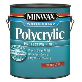 Minwax Gallon Polycrylic Gloss Polyurethane